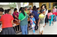 Food Donations for Flood Victims