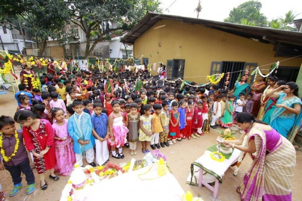 The Thai Pongal Festival Celebration of Kindergarten