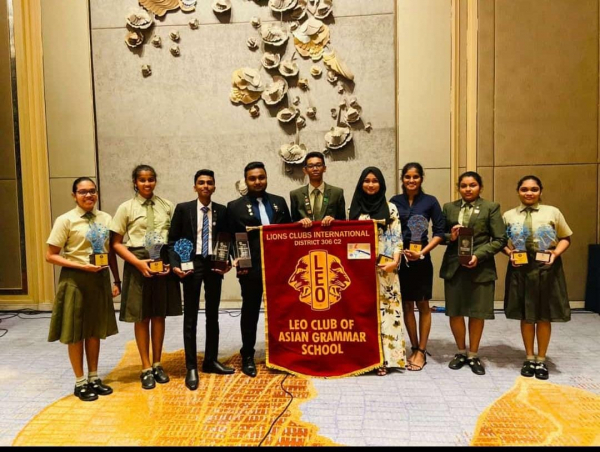 Proud Leo's of AGS Conquer - Sri Lanka